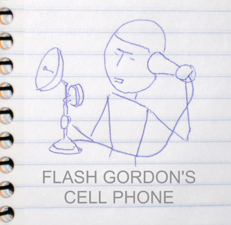 FLASH GORDON'S CELL PHONE